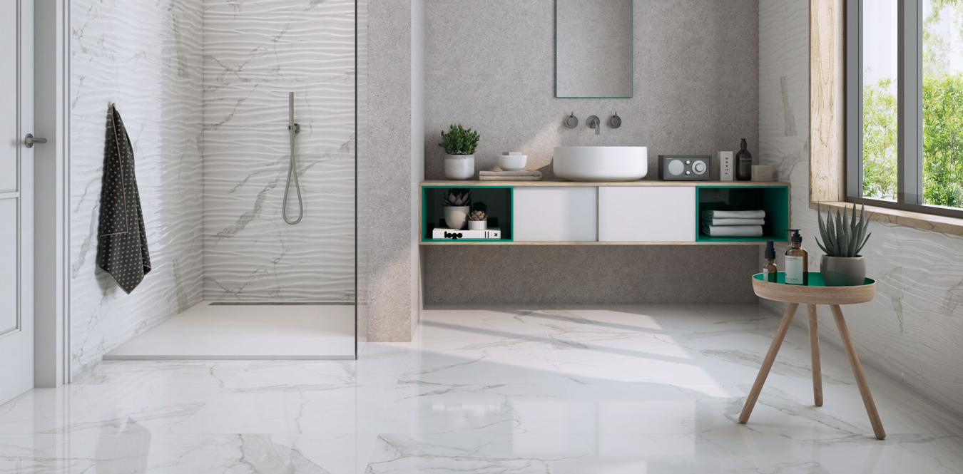 Happy Floors - Statuario Porcelain Tile