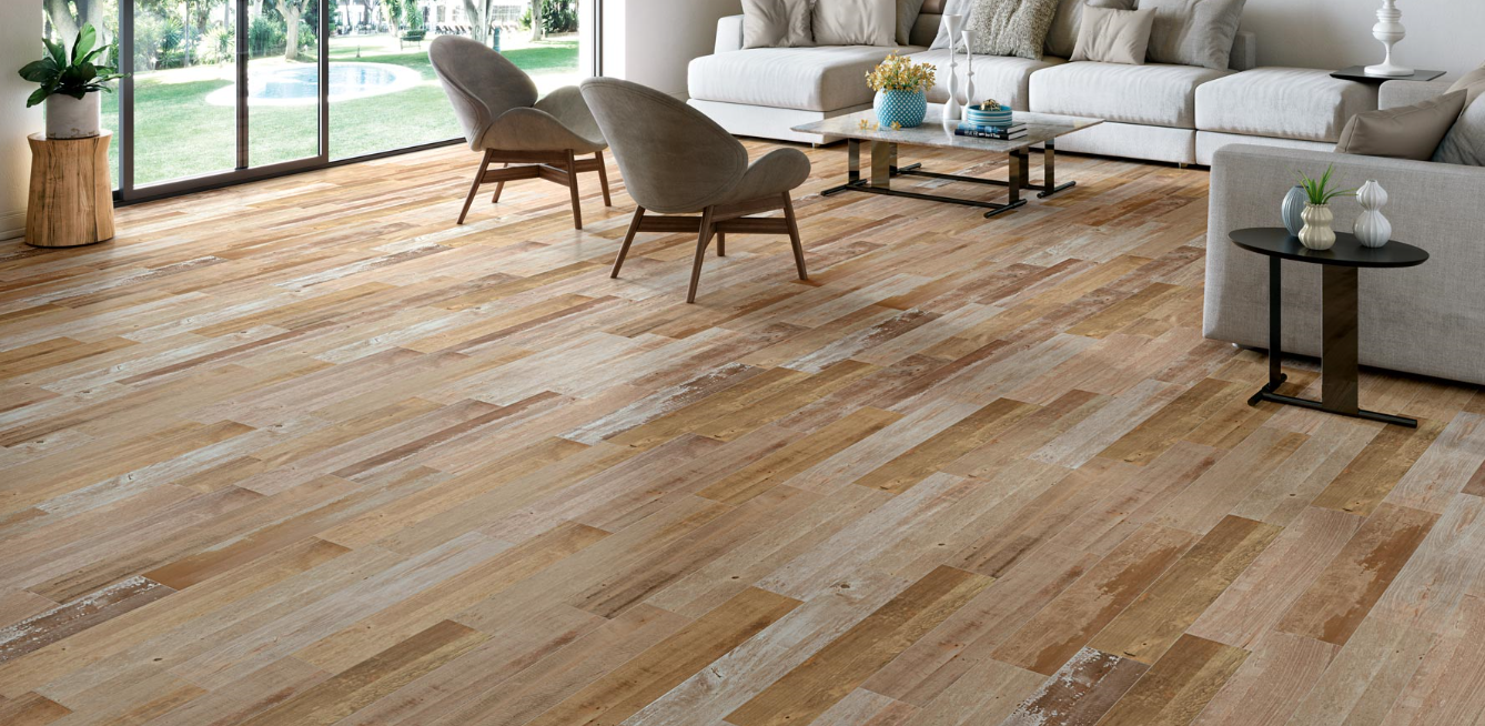 Happy Floors - Barnwood Porcelain Tile