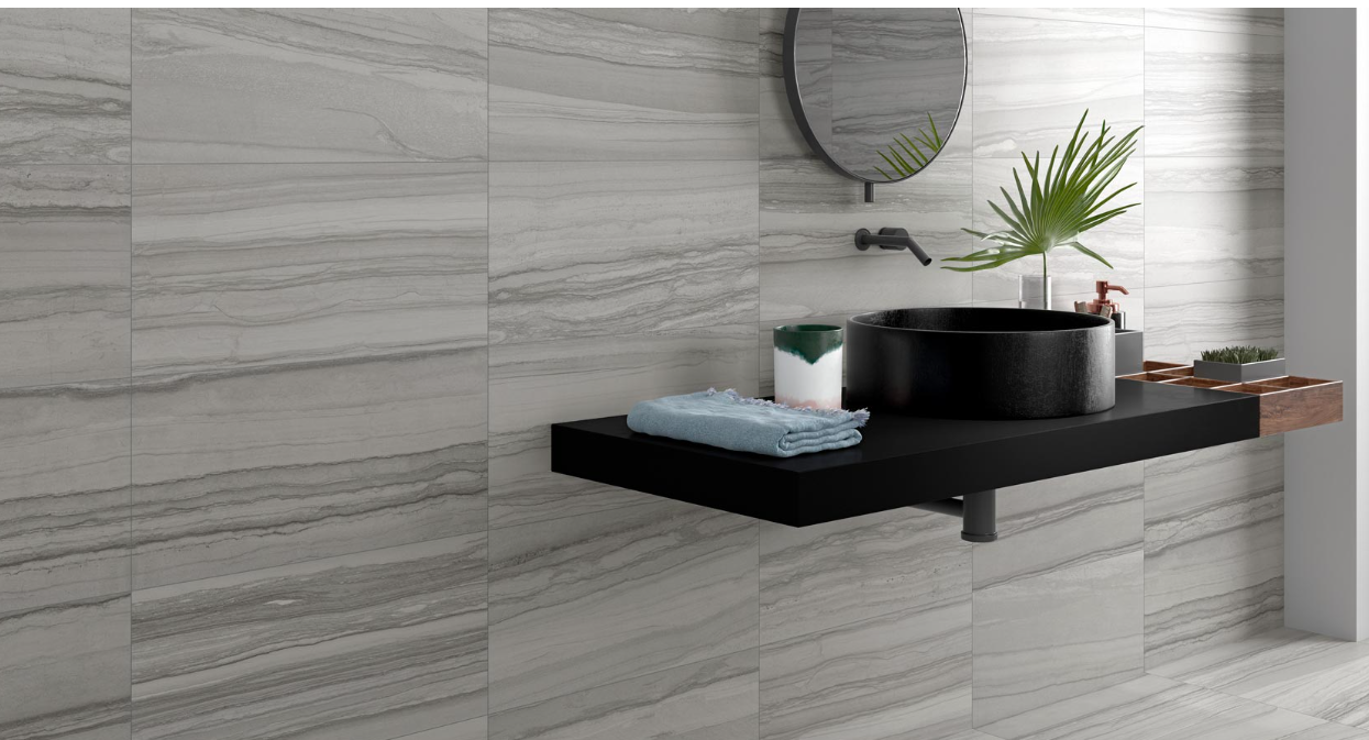 Happy Floors - Silver Porcelain Tile