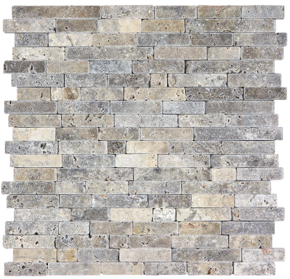 Silver Ash Tumbled Travertine