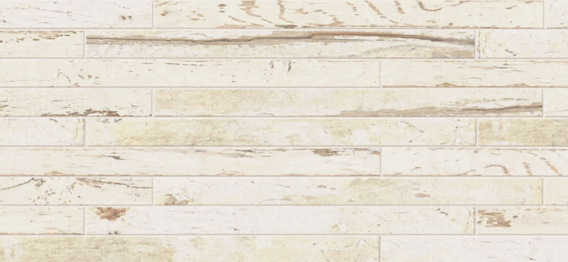 "Florim - 3""x36"" Charleston White Porcelain Tile"