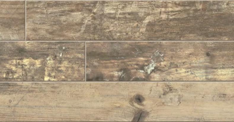 """Florim - 6""""x36"""" Ecowood Noce Porcelain Tile"""