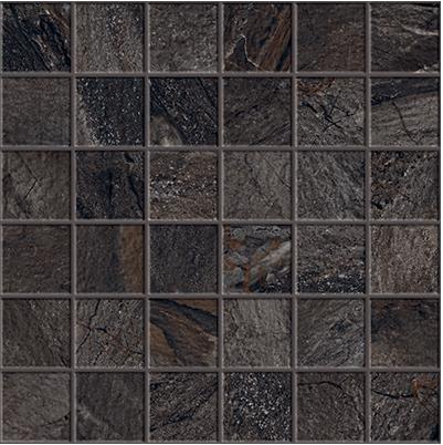 "Happy Floors - 2""x2"" Utah Slate Mosaic (12""x12"" Sheet)"
