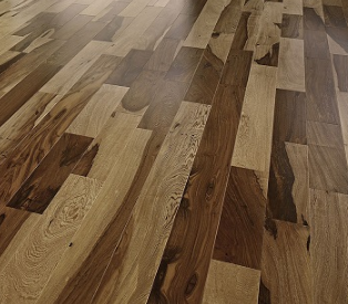 Triangulo 1 2 X5 4 Guajuvira Brazilian Pecan Engineered Hardwood Flooring