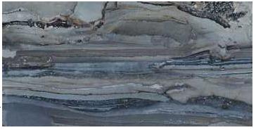 "Happy Floors - 12""x24"" Exotic Stone Lagoon Polished Tile (Rectified Edges)"