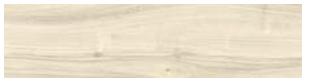 "Castelvetro - 12""x48"" More Bianco Porcelain Tile (Rectified Edges)"