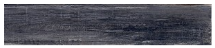 "Interceramic - 7-1/2""x39"" Timberwood Weathered Black Porcelain Tile (Rectified Edges)"