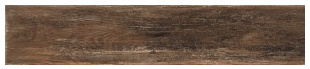 "Interceramic - 7-1/2""x39"" Timberwood Weathered Brown Porcelain Tile (Rectified Edges)"