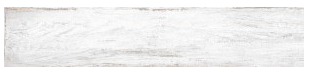"Interceramic - 7-1/2""x39"" Timberwood Weathered White Porcelain Tile (Rectified Edges)"