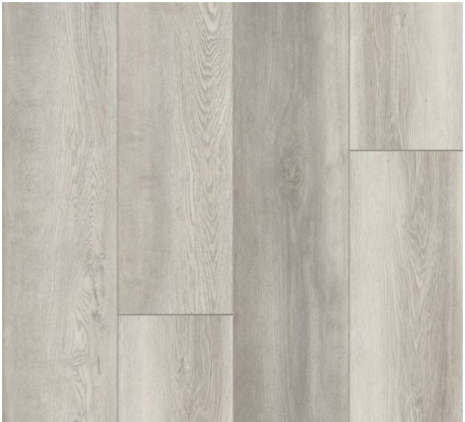 """Armstrong - 9""""x72""""x0.28"""" thick Empower Norden Oak - Artic Snowflake Luxury Vinyl Plank"""