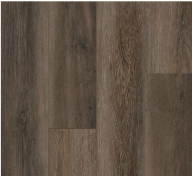 "Armstrong - 9""x72""x0.28"" thick Empower Norden Oak - Oslo Brown Luxury Vinyl Plank"