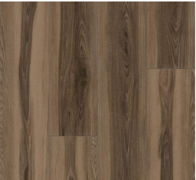 """Armstrong - 9""""x72""""x0.28"""" thick Empower Viking Hickory - Norse Brown Luxury Vinyl Plank"""