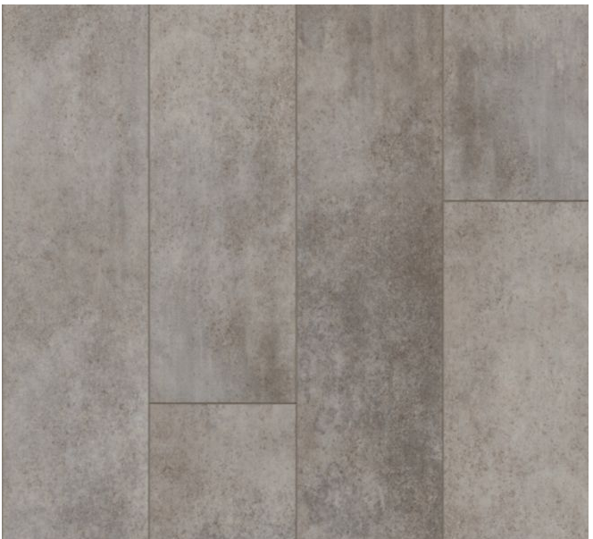 """Armstrong - 9""""x72""""x0.28"""" thick Empower Urban Age - Mineral Gray Luxury Vinyl Plank"""