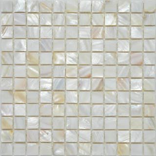 """Milstone - 1""""x1"""" Pearl Mosaic  (11.6""""x11.6"""" Sheet)"""