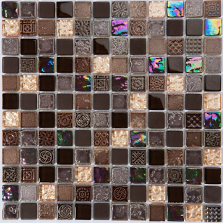 "Milstone - 1""x1"" Katherin Mosaic  (11.75""x11.75"" Sheet)"