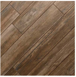 "Mediterranea - 8""x48"" Boardwalk Coney Island Porcelain Tile"
