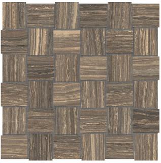 "Anatolia - 2""x2"" Eramosa Natural Basketweave Mosaic (12""x12"" sheet)"
