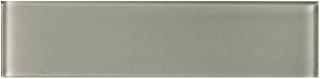 """Anatolia - 3""""x12"""" Bliss Element Smoke Glass Tile 38-002"""