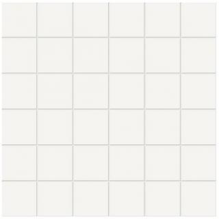 "Anatolia - 2""x2"" Soho Matte White Mosaic (12""x12"" sheet)"