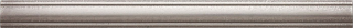 """Questech - 1""""x12"""" Cast Metal Brushed Nickel Dome Liner"""