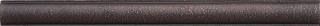 "Questech - 1""x12"" Cast Metal Dark Oil Rubbed Bronze Classic Liner"
