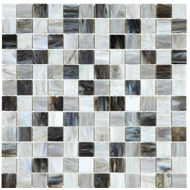 "Anatolia - 1""x1"" Bliss Baroque Alabastro Stained Glass Mosaic 35-069"