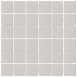 "Anatolia - 2""x2"" Soho Matte Warm Grey Mosaic (12""x12"" sheet)"