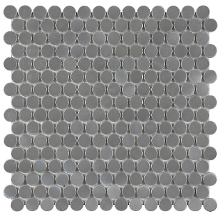 Anatolia - Stainless Steel Penny Round Mosaic Tile 79-157
