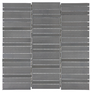 Anatolia - Stainless Steel Random Stacked Mosaic Tile 79-158