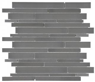 Anatolia - Stainless Steel Random Strip Mosaic Tile 79-159