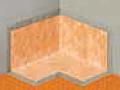 Schluter Systems - Kerdi-Kereck-F Waterproofing Inside Corners (2 ea.)