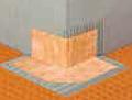 Schluter Systems - Kerdi-Kereck-F Waterproofing Outside Corners (10 ea.)