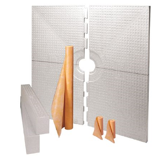 "Schluter Systems - Kerdi-Shower-Kit (72""x72"" tray)"