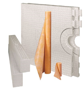 "Schluter Systems - Kerdi-Shower-Kit (32""x60"" tray)"