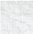 "2""x2"" Bianco Carrara Honed Mosaic (12""x12"" sheet)"