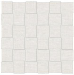 """Anatolia Tile - 2""""x2"""" Belgian Linen Ivory Basketweave Mosaic Tile"""