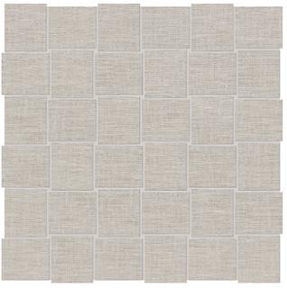 """Anatolia Tile - 2""""x2"""" Belgian Linen Natural Basketweave Mosaic Tile"""