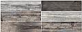 """Colorker - 8-1/2""""x33"""" Retro Deep Porcelain Tile"""