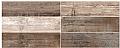 """Colorker - 8-1/2""""x33"""" Retro Nature Porcelain Tile"""