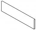 "Colorker - 3""x18"" Retro Deep Bullnose"