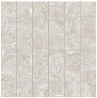 """Anatolia Tile - 2""""x2"""" Regency Ivory Mosaic (13""""x13"""" sheet)"""