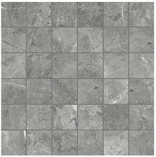 "Anatolia Tile - 2""x2"" Regency Carbon Mosaic (13""x13"" sheet)"