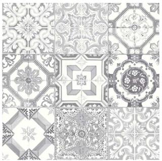 """Anatolia Tile - 8""""x8"""" Marrakesh Grey Mix Glossy Tile 42-012"""