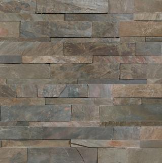 """6""""x24"""" Indian Coast Ledger Stone Panel 76-374"""