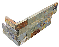 """6""""x18"""" Sierra Ledger Stone Assembled Corner Panel 76-368"""