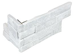 "6""x18"" Glacier Ledger Stone Assembled Corner 76-370"