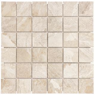 """2""""x2"""" Impero Reale Polished Marble Mosaic Tile 76-407"""