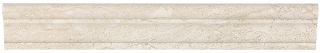 """2""""x12"""" Impero Reale Polished Marble Chair Rail Molding 77-397"""