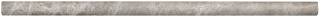 "5/8""x12"" Phantasie Gray Polished Marble Mini Pencil 77-404"