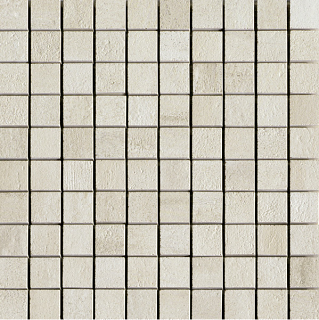 "Unicom Starker - 1""x1"" Overall Cotton Mosaic Tile (11-3/4""x11-3/4"" sheet)"